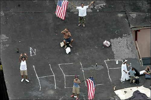 Katrina rooftop
