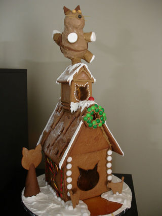 Award winning gingerbread house