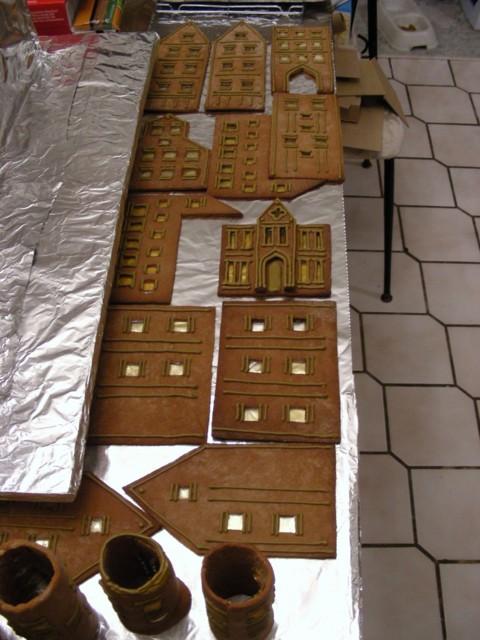 Gingerbread Ninja Britta Creates A Gingerbread Masterpiece The