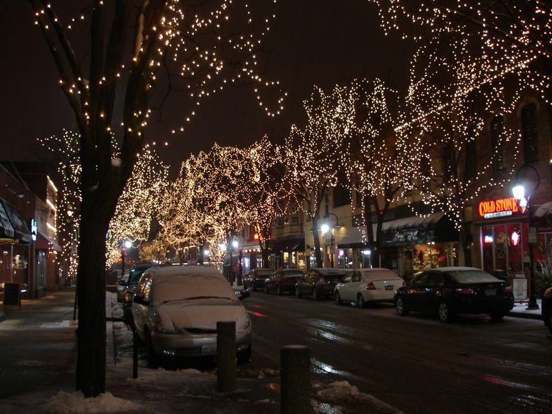 Snowy Naperville