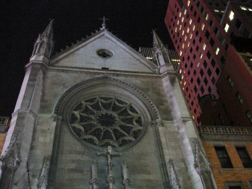 Church near Times Sq